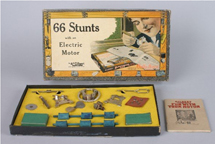 A.C. Gilbert Company Stunts With an Electric Motor Set