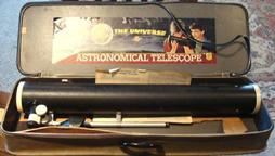 A.C. Gilbert Company Optics Set - reflecting telescope