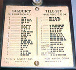 Gilbert Signal Engineering Set Telegraph key