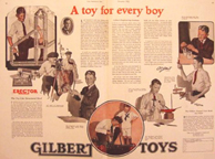 A.C. Gilbert Company  Toy for every boy advertisement