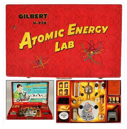 Gilbert U238 Atomic Energy Lab