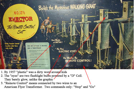 Decoding the Erector Set Walking Giant Graphic