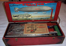 Erector Zeppelin Set Box