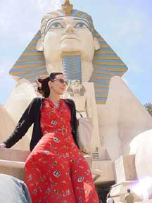 Chrissie at Luxor