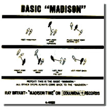 Basic Madison Dance Step Graphic