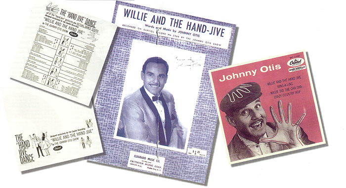 Johnny Otis Memorabilia