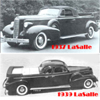Flower Car based on  1937 and 1939 LaSalle