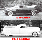 Flower Car based on 1940 Buick and 1941 Cadillac
