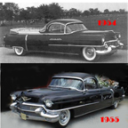 Flower Car based on 1954 and 1955 Cadillac
