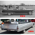 Flower Car based on 1962 and 1968 Cadillac