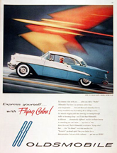 Magazine Ad for the 1955 Olds Holiday