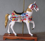 Miniature Carousel Figure