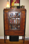 Leslie Waterfall China Cabinet