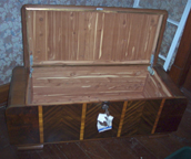 Craig s Cavalier Chest from the 1920s with side compartments
