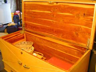 1950s Rectilinear Cavalier Cedar Chest