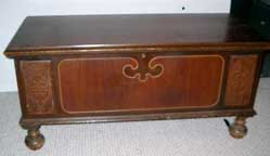 Mike's Cavalier Cedar Chest Closed