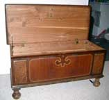 Mike's Cavalier Cedar  Chest Open