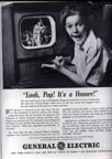 GE Ad for Television 1939