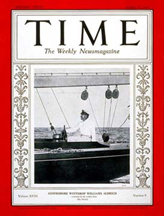 Time Magazine Cover 08-31-1931