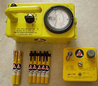 V-715 US Civil Defense Radiation Monitor