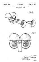 Air Horns patent D111187