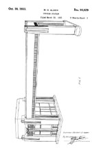 Shell Oil Gas Station Design Patent D-90,829