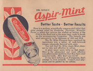 Miles laboratories Aspir Mint