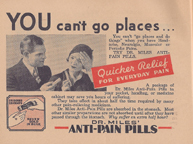 Miles laboratories Anti-Pain Pills