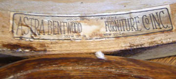 The Astra Bentwood Label