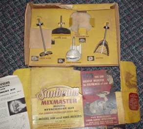Attachment Kit for Mixmaster