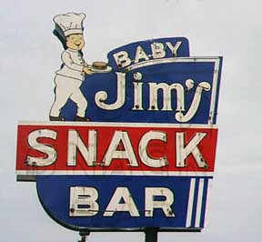 Baby Jim Sign in Culpeper, Virginia