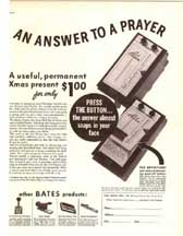 Ad for a Bates Address Book November 17 1939 LIFE Magazine