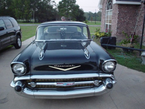 1957 Bel Air Hardtop front view