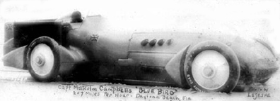 Bluebird Land Speed Record Car