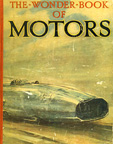 the 1938 Eyston Thunderbolt Land Speed Record Car on the cover of The Book Of Motors