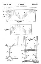 Marcel Breuer Molded Plywood Chair Patent No. 2,503,933