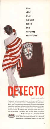 Ad for the Detecto Scale from LIFE