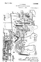 Burroughs Adding Machine Patent 1,510,951