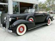 The 1936 cadillac