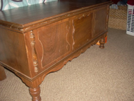 1930s Jacobean  Cavalier Cedar Chest