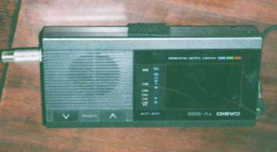Casio Micro Color TV