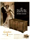 Cavalier Cedar Chest ad from the November 12, 1949 issue of Saturday Evening Post