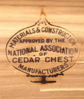 Mark from the National Association of Cedar Chest Manufacturers