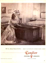 Cavalier Cedar Chest ad from LIFE Magazine 11-24-1947