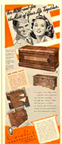 Cavalier Cedar Chest Adverisement from 1943