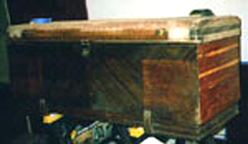 The jitterbuzz Cavalier Cedar Chest as found