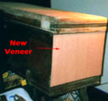 The jitterbuzz Cavalier Cedar Chest Veneer Repair