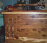 Curly Maple Traditional Cavalier Cedar Chest