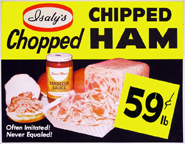 Chipped Ham ad from a bygone era