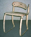The Sperlich-Ironrite Health Chair Before